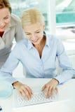 Business correspondence Stock Photo