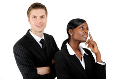 Business couple Stock Photography