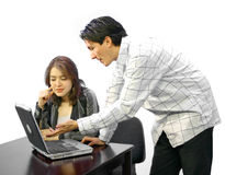 Business Couple 2 Stock Images
