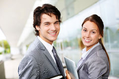 Business couple stock image