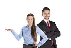 Business couple Stock Photo