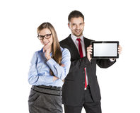 Business couple Royalty Free Stock Photos