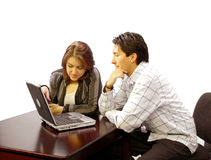 Business Couple 3 Royalty Free Stock Image