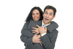 Business couple Royalty Free Stock Images