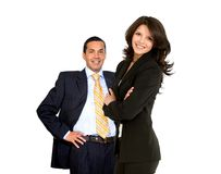 Business couple Stock Photos