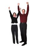 Business couple success Royalty Free Stock Photo