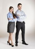 Business couple Royalty Free Stock Image
