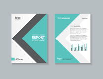 Business cover design template Royalty Free Stock Photo