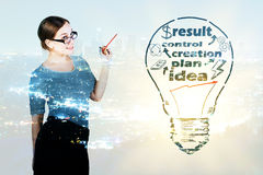 Business creation concept Stock Photo