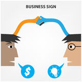 Business creative concept Royalty Free Stock Photos