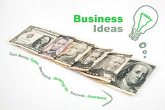 Business creative idea Stock Photo