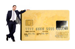 Business credit card Stock Photography