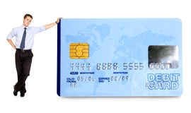 Business credit card Stock Images