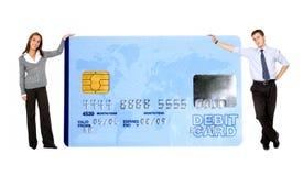 Business credit card Stock Photos