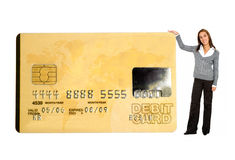 Business credit card Stock Photo
