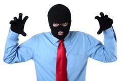 Business crime stock image