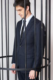Business criminal. Stock Photo