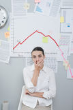 Business crisis concept Stock Image