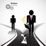 Business crossroad Royalty Free Stock Photo