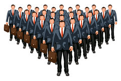 Business crowd2 Royalty Free Stock Image