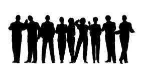 Business crowd vector Stock Photos