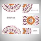 Business ctemplate. Vector illustration in native Royalty Free Stock Images