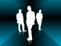 Business Cube. Business men  art made for creativities Stock Image