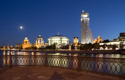 Business and cultural complex Riverside towers, Moscow Stock Image