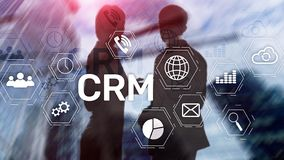 Business Customer CRM Management Analysis Service Concept. Relationship Management.  stock photo