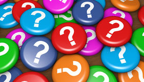 Business Customer Questions Royalty Free Stock Photo