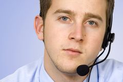 Business customer service Stock Photos