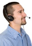 Business customer service guy Royalty Free Stock Photos