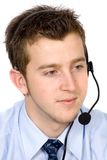 Business customer service guy Stock Images