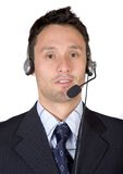 Business customer service man Stock Photo