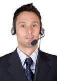 Business customer service man Stock Photo