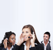 Business customer service representatives Royalty Free Stock Photography