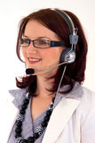 Business customer service woman Royalty Free Stock Photos