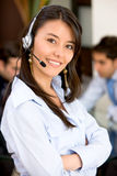Business customer service woman Stock Photo