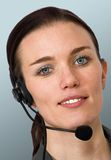 Business customer services Stock Photo
