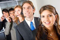 Business customer services Stock Photos