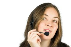 Business customer services - sales rep Stock Images