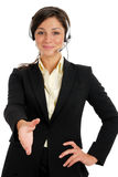 Business customer support operator Stock Photos