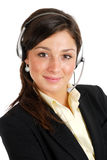 Business customer support operator Stock Photo