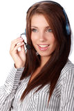 Business customer support operator Royalty Free Stock Image