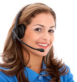 Business customer support operator Stock Images