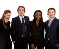 Business customer support team Stock Photography