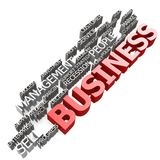Business in 3D Royalty Free Stock Photo
