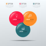 Business 3D infographic template Stock Photos