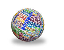 Business 3d sphere Royalty Free Stock Image