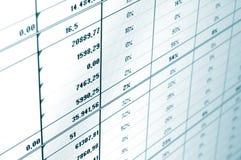 Business data Royalty Free Stock Photos